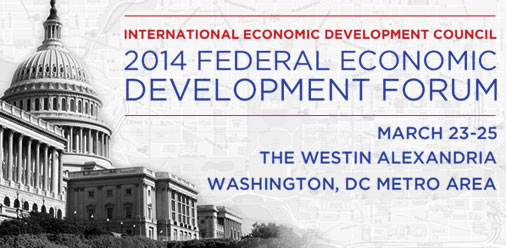 Link:  2014 Federal Economic Development Forum